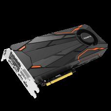 GIGABYTE GeForce GTX 1080 Turbo DirectX 12 GV-N1080TTOC-8GD 8GB 256-Bit GDDR5X PCI Express 3.0 x16 SLI Support ATX Video Card