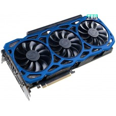 EVGA GeForce GTX 1080 Ti FTW3 Elite Gaming Blue DirectX 12 11G-P4-6796-K3 11GB 352-Bit GDDR5X Video Card