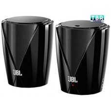 Refurbished JBL Speakers Jembe Powerful Computer TV Home Desktop Entertainment BLACK 2 pcs