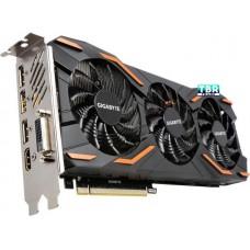 Gigabyte  GeForce GTX 1080 DirectX 12 GV-N1080WF3OC-8GD 8GB 256-Bit GDDR5X PCI express 3.0 x16 SLI support ATX video card