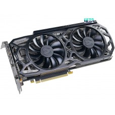 EVGA GeForce GTX 1080 Ti SC black edition gaming 11G-P4-6393-KR 11GB GDDR5X iCX cooler led video graphics card