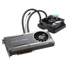 EVGA GeForce GTX 1080 FTW hybrid gaming 8GB 08G-P4-6288-KR GDDR5X RGB Led all-In-One watercooling with 10cm fan video card
