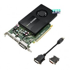 HP NVIDIA QUADRO K2200 4GB PCI-E Video Professional Graphics Card 764899-001