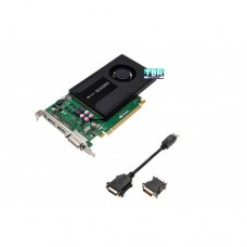 HP NVIDIA Quadro K2000 2GB GDDR5 2.0 x16 DP DVI Workstation Video Graphics Card