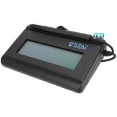 Topaz SignatureGem LCD 1x5 T-LBK462 Series HID-USB BackLit T-LBK462-HSB-R Signature Capture Pad