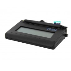 Topaz SignatureGem LCD 1x5 T-LBK462 Series Serial BackLit T-LBK462-B-R Signature Capture Pad