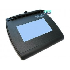 Topaz SignatureGem LCD 4x3 T-LBK755 Series Dual Serial/Virtual Serial via USB BackLit T-LBK755-BBSB-R Signature Capture Pad