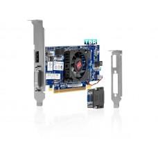 HP AMD Radeon HD7450 1GB DVI DP PCIe 677894-001 High Profile Video Graphics Card)