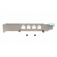 Long Bracket for Nvidia Quadro NVS 510 High Profile NVS510 Mini DP Connectors