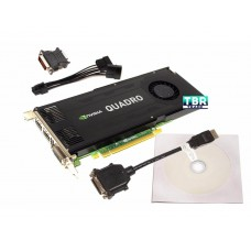PNY NVIDIA Quadro K4000 3GB GPU Workstation Video Graphics Card GDDR5 PCIe x16 VCQK4000-PB
