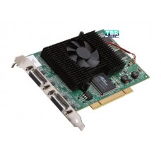Matrox G45X4QUAD-B G450 Video Graphics Card X4 PCI 2x LFH60 4xDVI Digital