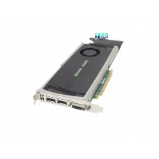 HP 616076-001 NVIDIA Quadro FX 4000 2GB PCIe graphics card