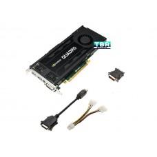 Nvidia Quadro K4200 4Gb Gddr5 Dvi Dp St Video Card