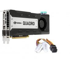 Nvidia Quadro K6000 12GB GDDR5 PCIe 3.0 x16 GPU Kepler Graphics Processing Unit Video Adapter 900-52081-0050-000 699-52081-0500-200