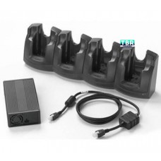 Zebra CRD3X01-401EES 4-Slot Ethernet/Charging Cradle Kit for MC3X00 Series