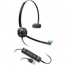Plantronics 203474-01 EncorePro HW545 Headset USB on-ear convertible Boom