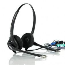 Plantronics SupraPlus HW251N Headset 92715-01 On-ear Wired Black Monaural