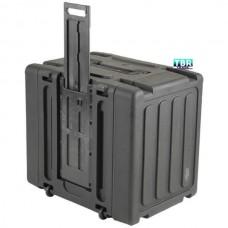 SKB Roto Shockmount Rolling Rack System Case 8U 3SKB-R08U20W Water-resistant