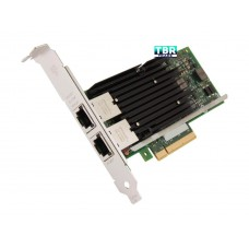 Intel X540T2 Ethernet Converged Network Adapter 100Mbps/1Gbps/10Gbps PCI Express 2.1 x8 2 x RJ45