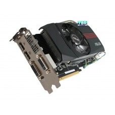 ASUS Radeon HD 6870 DirectX 11 EAH6870 DC/2DI2S/1GD5 1GB 256-Bit GDDR5 PCI Express 2.1 x16 HDCP Ready CrossFireX Support Video Card with Eyefinity