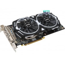 MSI Radeon RX 580 DirectX 12 RX 580 ARMOR 4G OC 4GB 256-Bit GDDR5 PCI Express x16 HDCP Ready CrossFireX Support Video Card