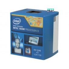 Intel Xeon E3-1245V3 Haswell 3.4 GHz 8MB L3 Cache LGA 1150 84W BX80646E31245V3 Server Processor