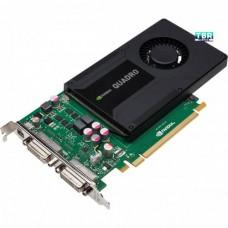 NVIDIA Quadro K2000D VCQK2000D-PB 2GB GDDR5 PCI Express 2.0 x16 Workstation Video Card