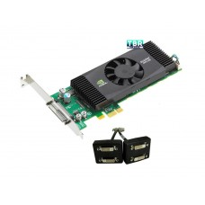 PNY Quadro NVS 420 VCQ420NVS-X1-DVI-PB 512MB 128-bit GDDR3 PCI Express x1 Low Profile Workstation Video Card